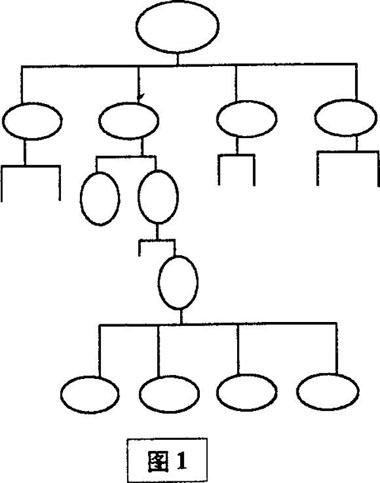 ①直线制组织结构图